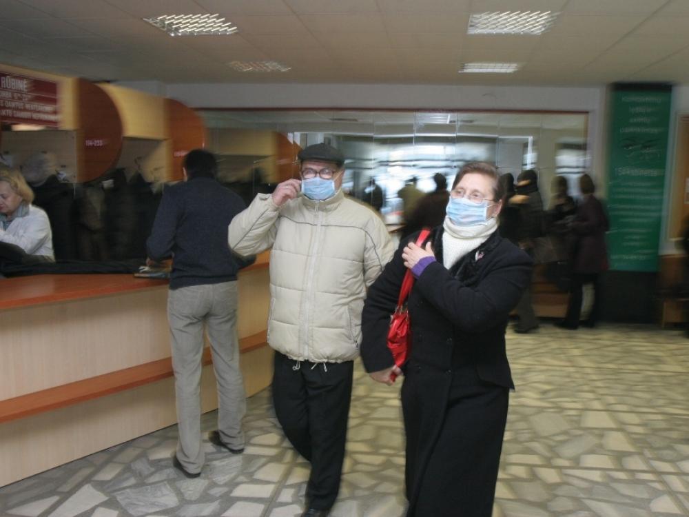 Penkios savivaldybės skelbia gripo epidemiją