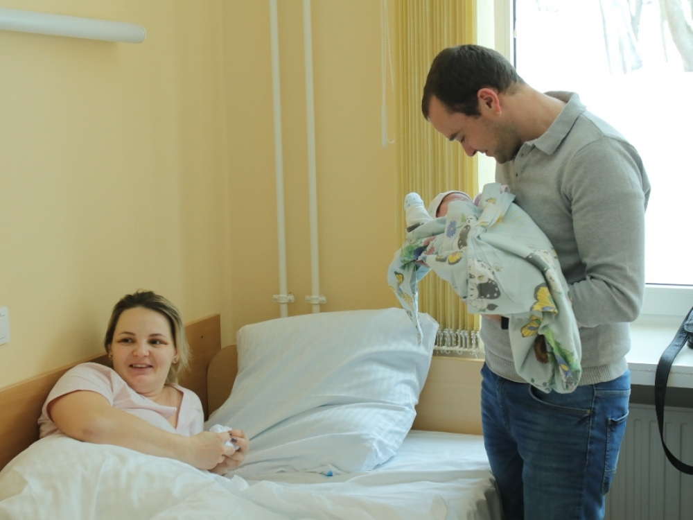 Vilniaus gimdymo namuose auga nauja medikų karta