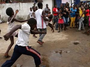 Ebolos virusu gali būti apkrėstas visas Vest Pointas