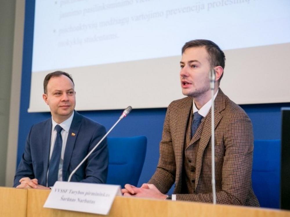 Seime pristatyta Visuomenės sveikatos stiprinimo fondo veikla