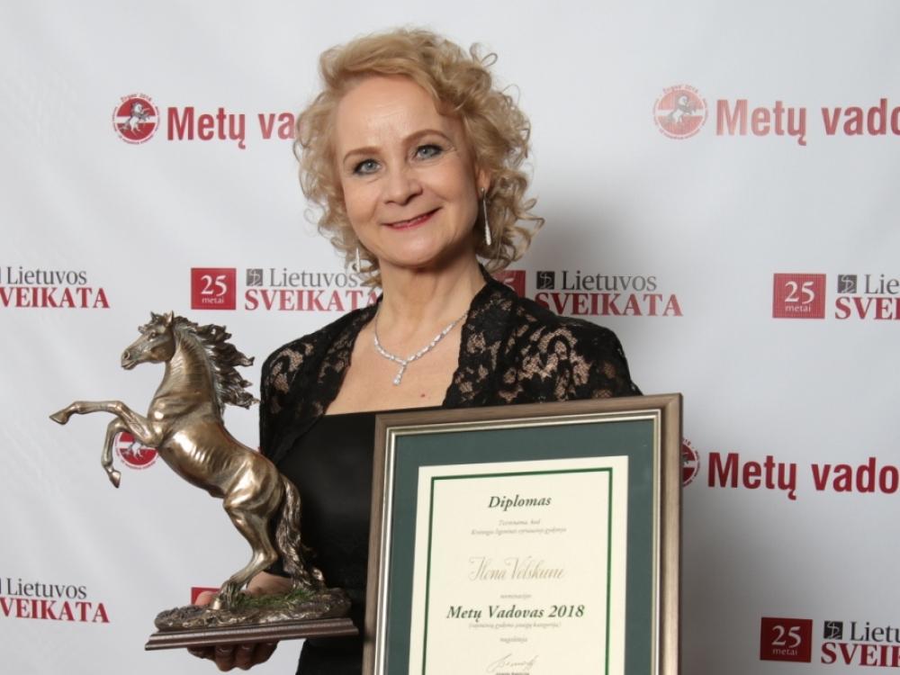 """Ilona Volskienė: """"Galvojau, kad didelėms įstaigoms turi vadovauti vyrai"""""""