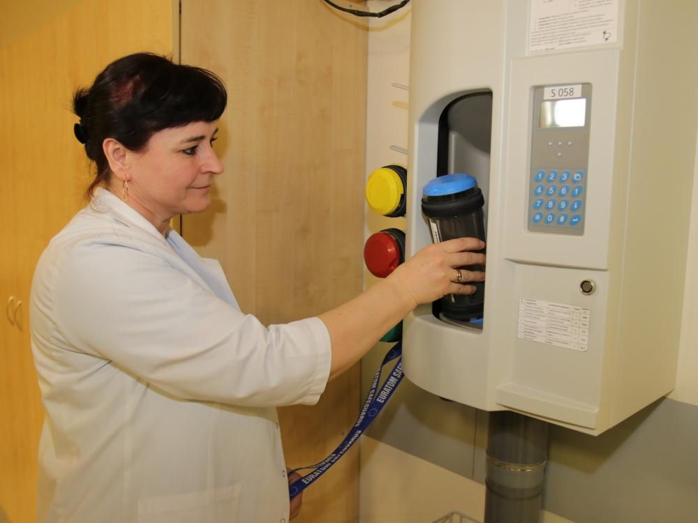 Efektyvesniam darbui Kauno klinikose – pneumopaštas
