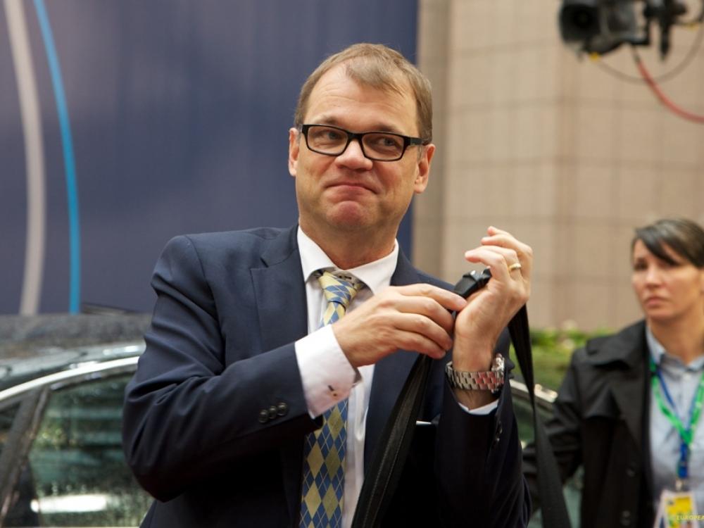 Suomijos premjeras pripažino savo nesėkmę