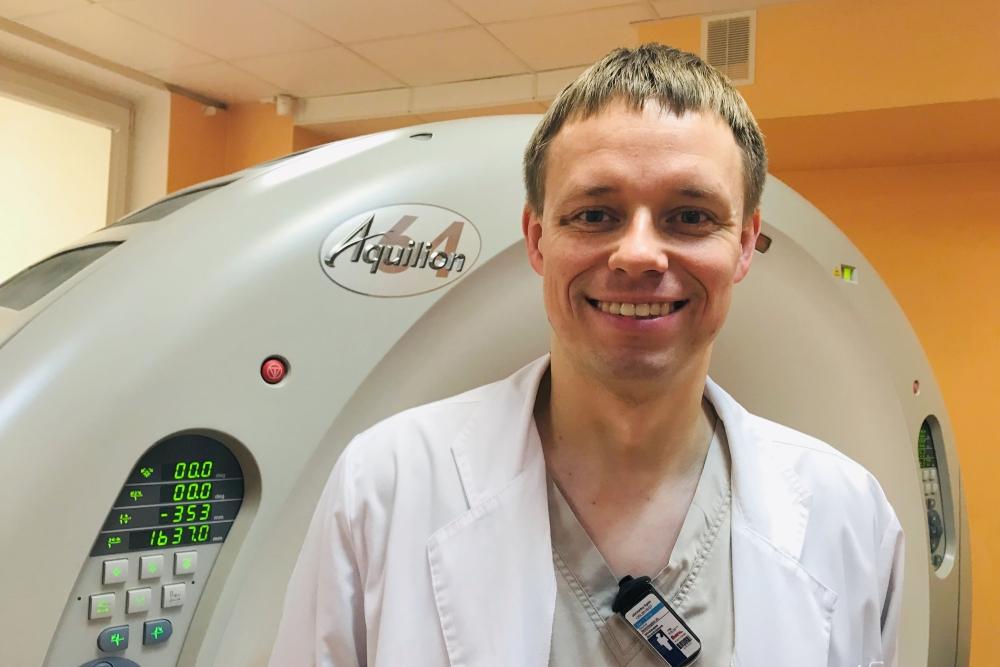 """Mindaugas Stražinskas: """"Radiologija – laisvė rinktis"""""""