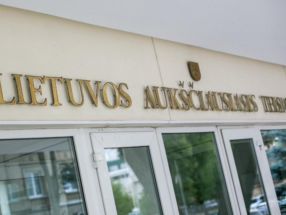 Aukščiausiasis teismas: Šiaulių ligoninės vadovas už kyšininkavimą nuteistas pagrįstai