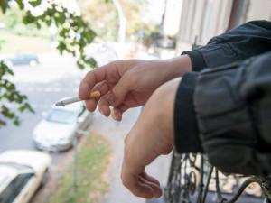 Uždraudus rūkyti balkonuose policija vaikysis rūkalius, o ne vagis?