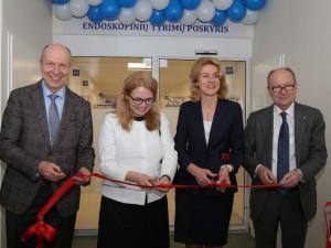Endoskopinių tyrimų poskyryje – europinio lygio paslaugos