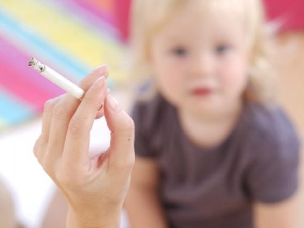 Bronchų astma: riziką didina pasyvus rūkymas