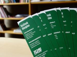 Įstaigos vienijasi prieš smurtą: pagalbą nuo šiol rasite ir bibliotekose
