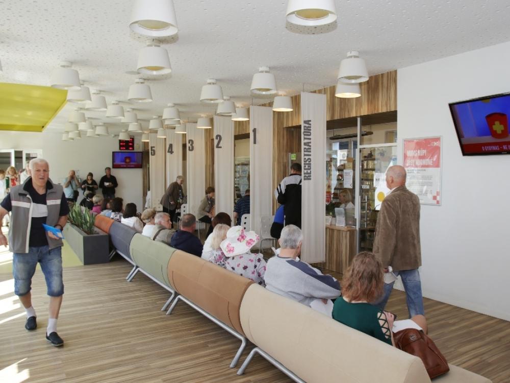 Kauno miesto poliklinika klausia pacientų: norite greito ar gero gydymo?