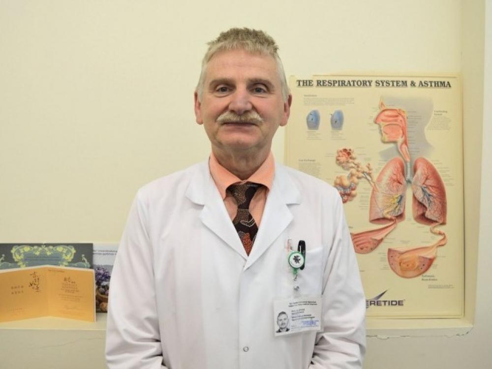 Kauno klinikinei ligoninei vadovaus prof. Albinas Naudžiūnas