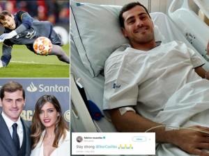 Širdies smūgis, nutraukęs futbolininko karjerą