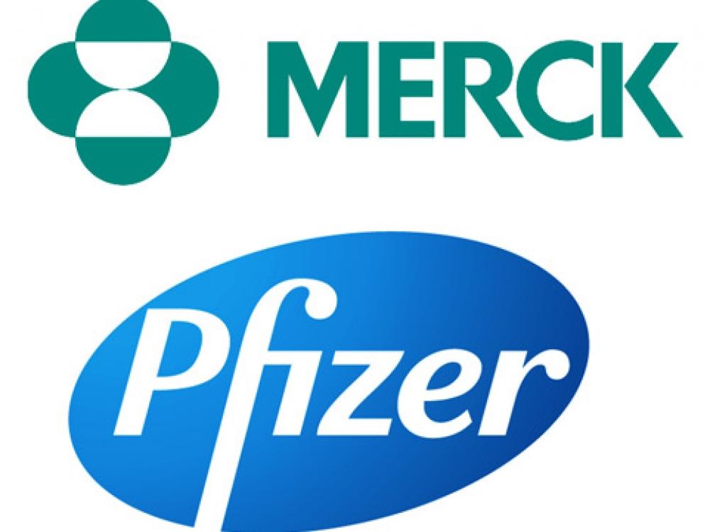 """""""Pfizer"""" ir """"Merck"""" pranešė bendradarbiausiančios tiriant priešvėžinių vaistų derinį"""