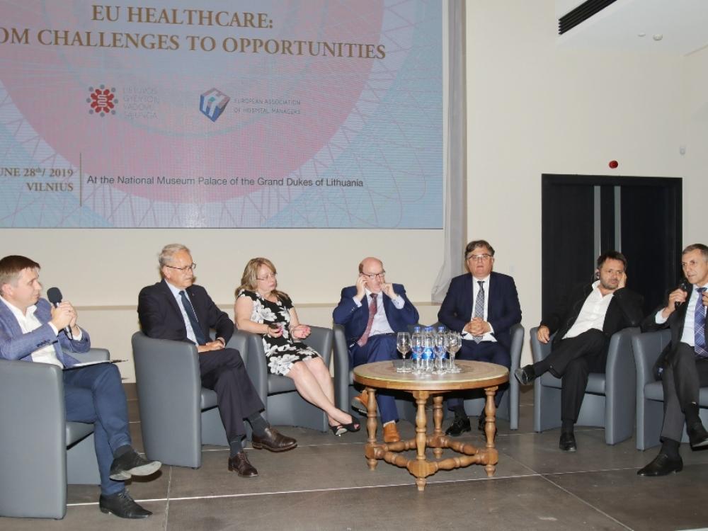 Vilniuje rinkosi Europos ir Lietuvos sveikatos sistemos vadovai