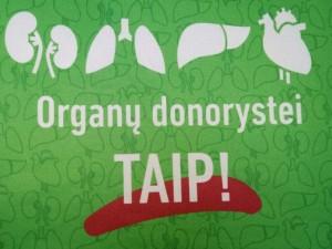Situacija organų donorystėje: daugiau sutikimų ir tarptautinių skrydžių