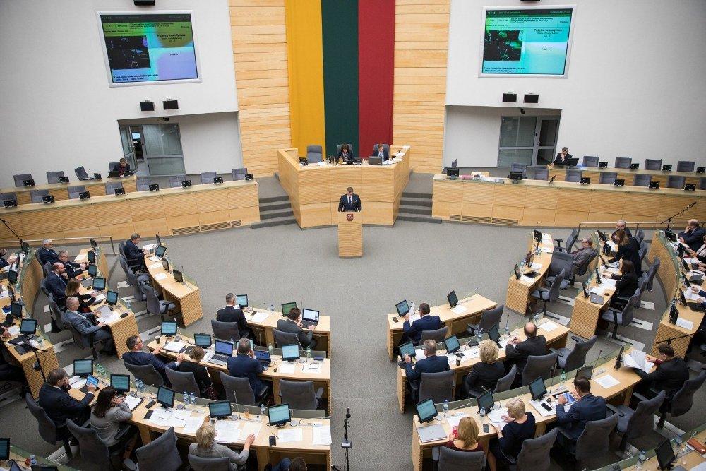 Parlamentinei veiklai skirtas lėšas Seimo nariai leidžia automobiliams ir suvenyrams