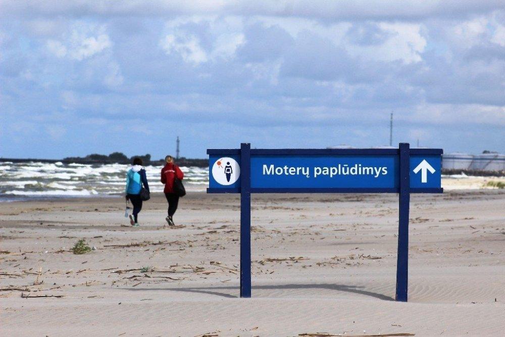 Kodėl atskiri moterų ir vyrų paplūdimiai nėra diskriminacija?