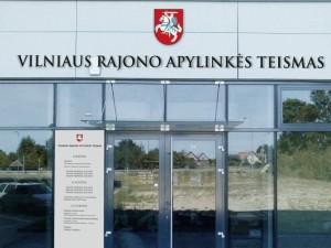 Dėl melagingo pranešimo apie išpiltą gyvsidabrį sutriko Vilniaus apylinkės teismo darbas