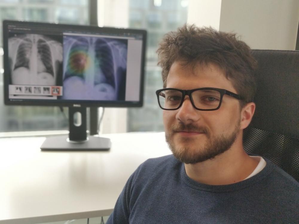 """Naglis Ramanauskas: """"Dirbtinis intelektas - protingas radiologo asistentas"""""""