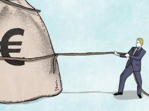 Ar tikrai vadovai ant pinigų maišo sėdi?