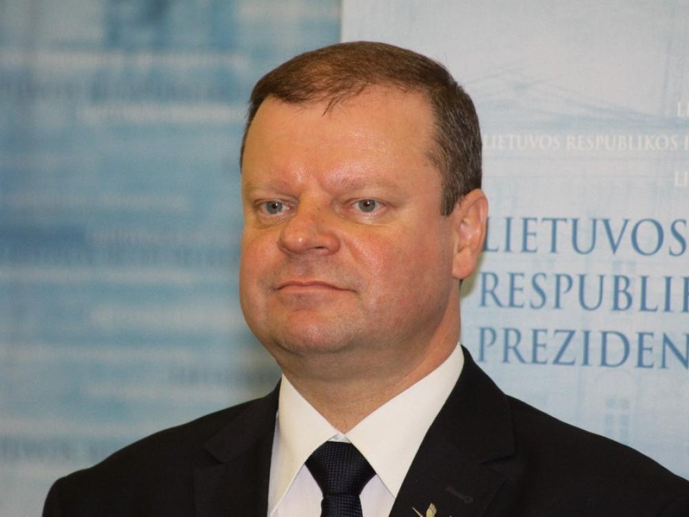 Premjeras S.Skvernelis dėl sveikatos nedalyvaus dalyje renginių