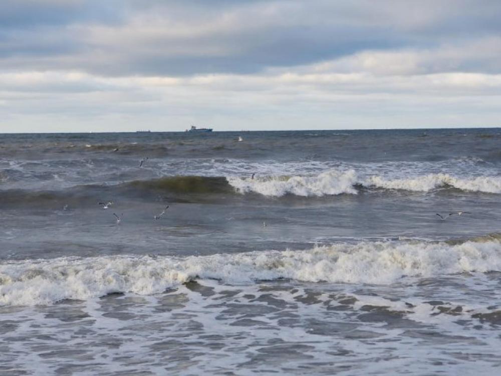 Lietuvos vandenyse Baltijos jūroje užfiksuota naftos teršalų dėmė