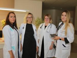 Jaunų medikų desantas Panevėžio ligoninėje