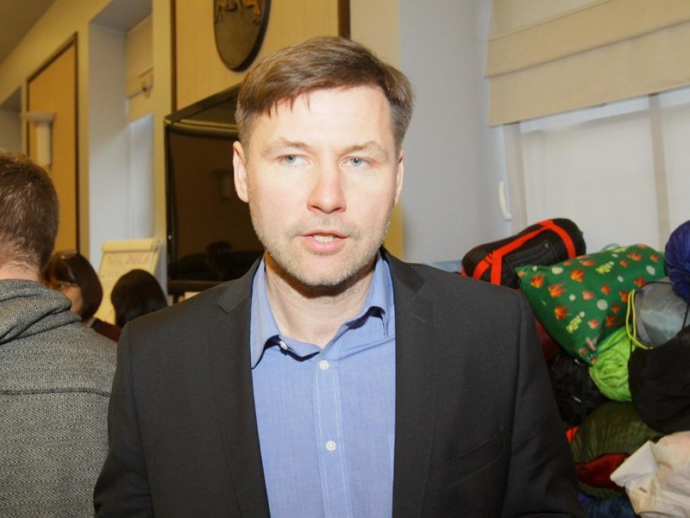 """Andrius Navickas: """"Pasiūliau ministeriją iškeldinti į Estiją"""""""