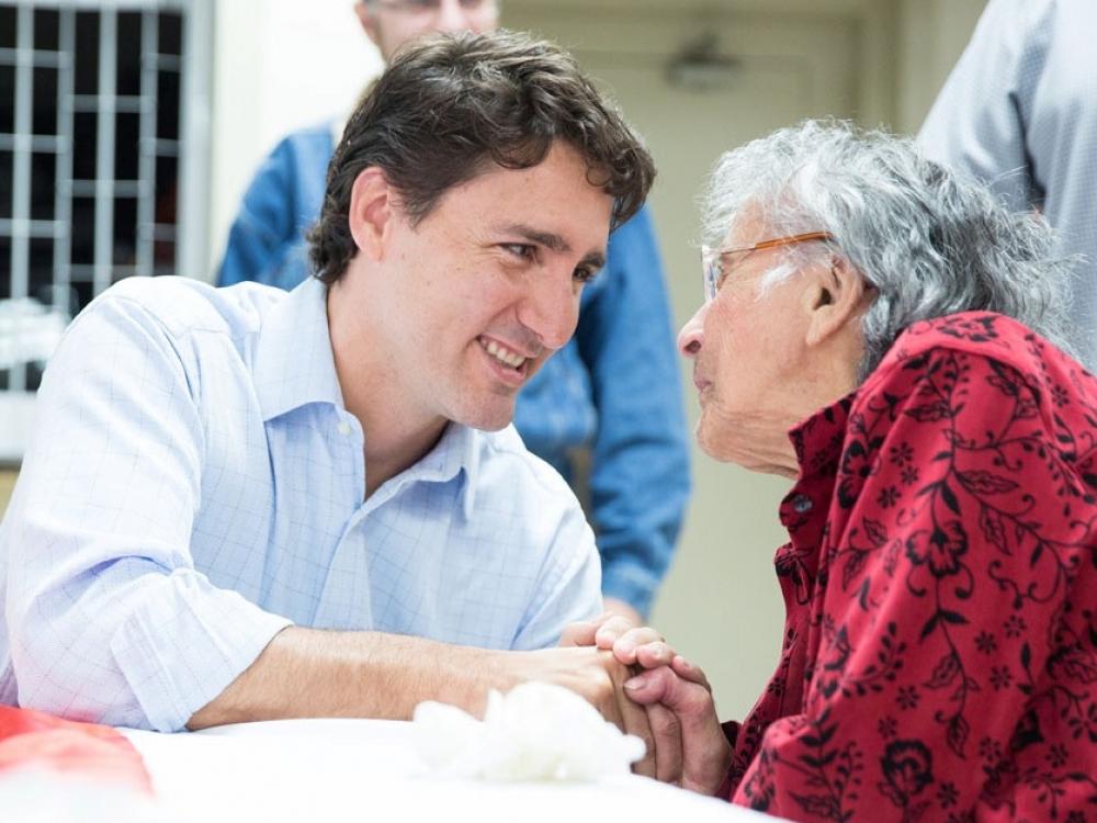 Kanada: metas pildyti pažadus