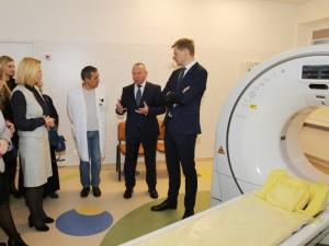 Mykolo Marcinkevičiaus ligoninėje atnaujinta radiologinė įranga