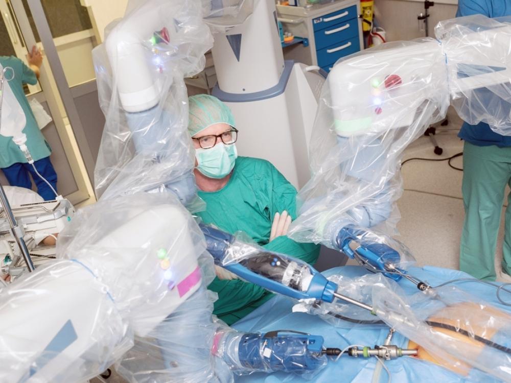 Pirmieji robotinės chirurgijos metai Lietuvoje - daug žadantys