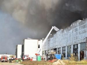 """Dėl gaisro """"Ekologistikoje"""" įtarimai pareikšti dviem aplinkosaugininkėms"""