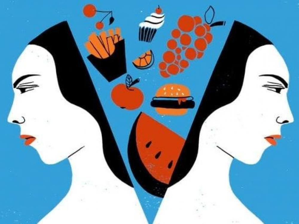 Maistas tapo skydu nuo tikrovės