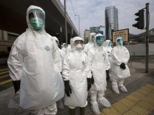 Kinijoje išplitusio koronaviruso aukų skaičius viršijo tūkstantį