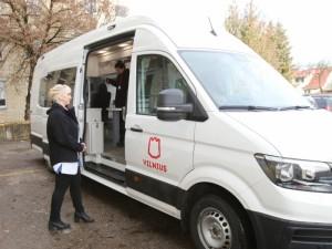 Proveržis Naujosios Vilnios poliklinikoje: startuoja ir klinika ant ratų
