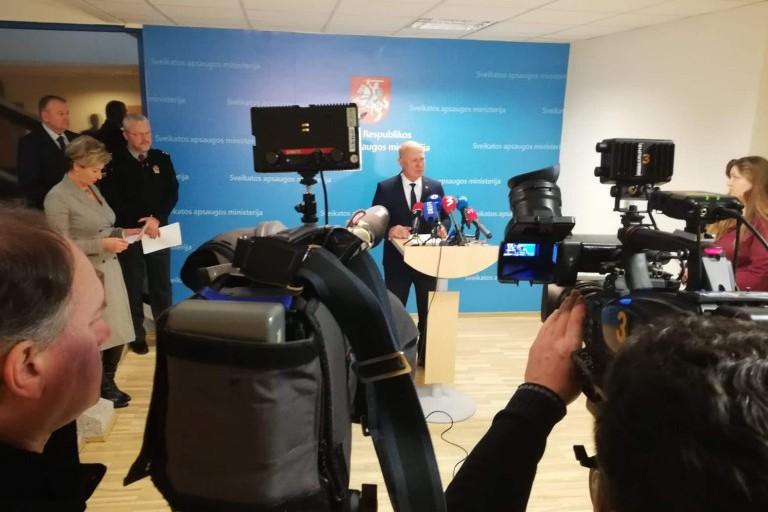 Koronavirusui plintant, Lietuva imasi papildomų saugumo priemonių