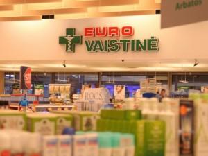 """""""Eurovaistinės"""" Šiauliuose imasi dažnesnės vaistinių dezinfekcijos"""
