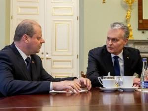 G.Nausėda ir S.Skvernelis aptars koronaviruso situaciją, ekonomikos ministro skyrimą