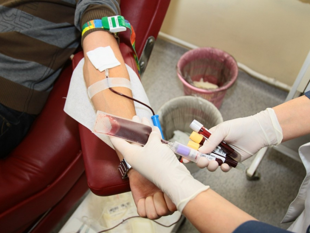 Įvedus karantiną, šalyje sutriko kraujo donorystė