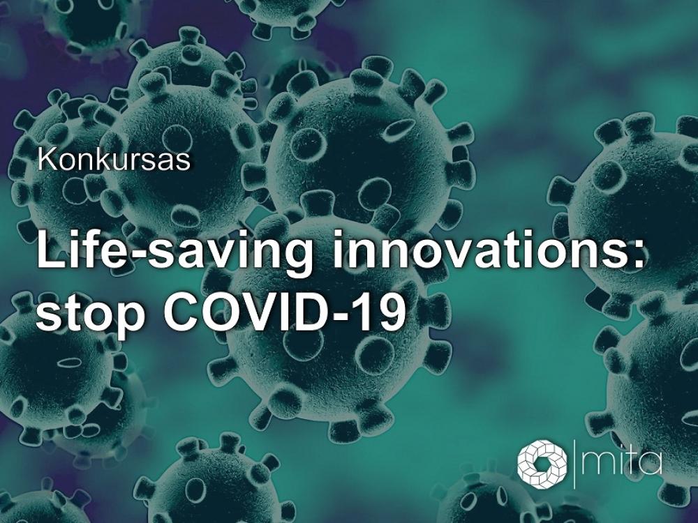 Skelbiamas MITA inovatyvių idėjų konkursas kovai su COVID-19