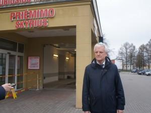 Respublikinės Šiaulių ligoninės direktorius - apie pasirengimą priimti sparčiai didėjantį pacientų srautą