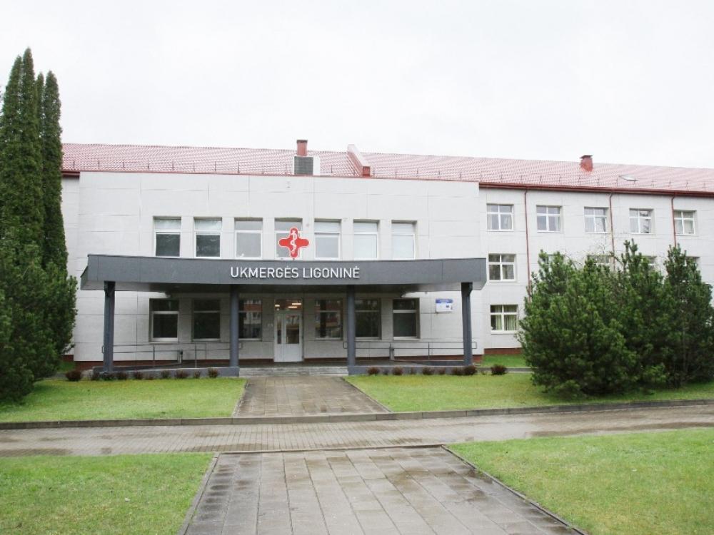 Situacija Ukmergės ligoninėje sudėtinga, gali tekti laikinai stabdyti veiklą
