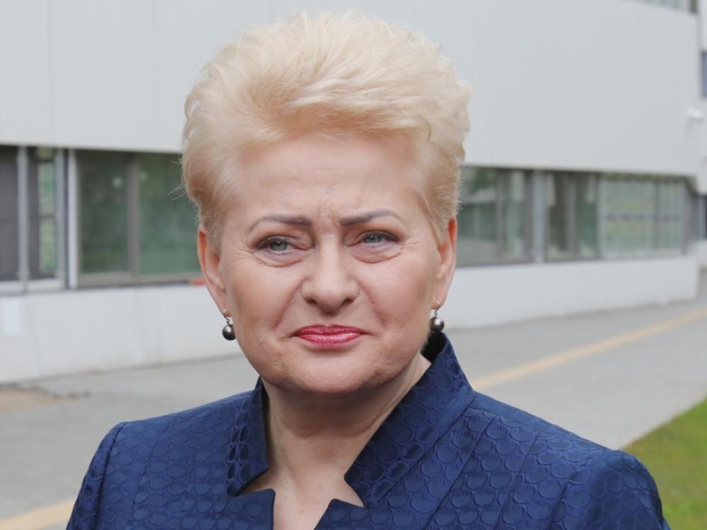 D.Grybauskaitė vadovaus fondui su medikų elitu