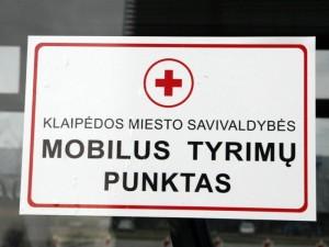 V.Grubliauskas: dėl reagentų trūkumo Klaipėdoje laikinai uždaromas patikros punktas
