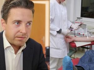Netradiciniai sprendimai: kraujo donorus atsiveža patys