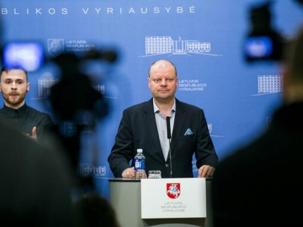 Vyriausybė skyrė dar 28 mln. eurų medicininėms priemonėms ir įrangai įsigyti