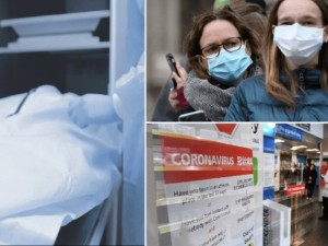 """Londono ligoninėse - virusu užsikrėtusių pacientų """"cunamis"""""""