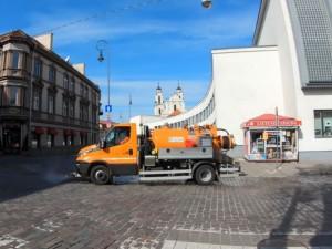 Vilnius dezinfekuos gatves