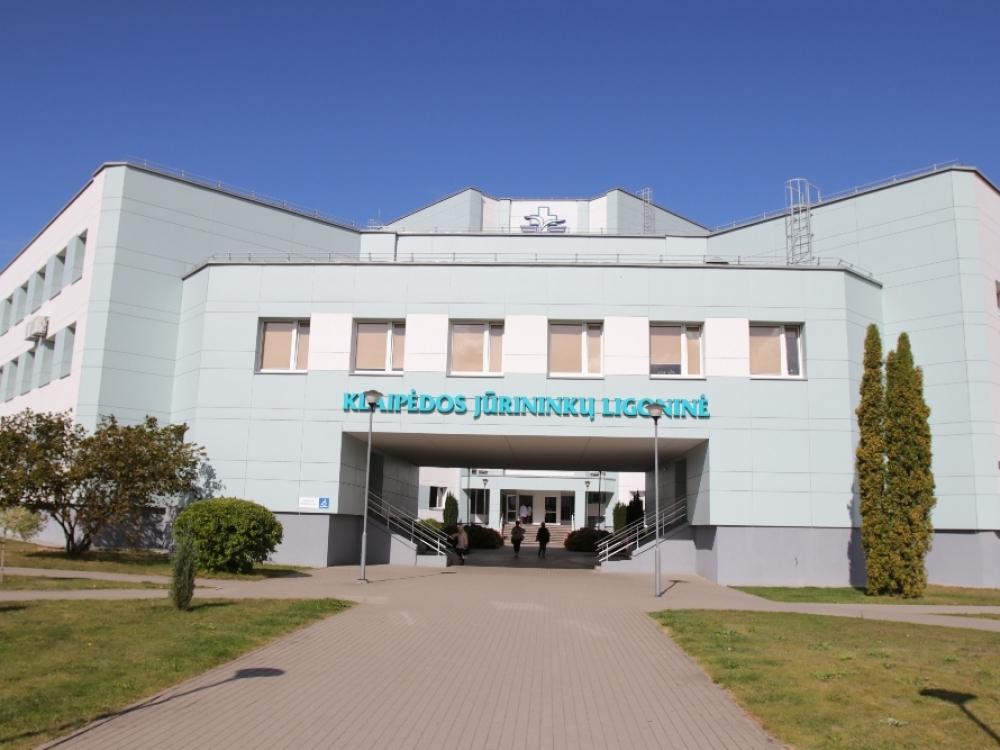 Klaipėdos Jūrininkų ligoninėje dėl COVID-19 laikinai uždarytas pilvo chirurgijos skyrius