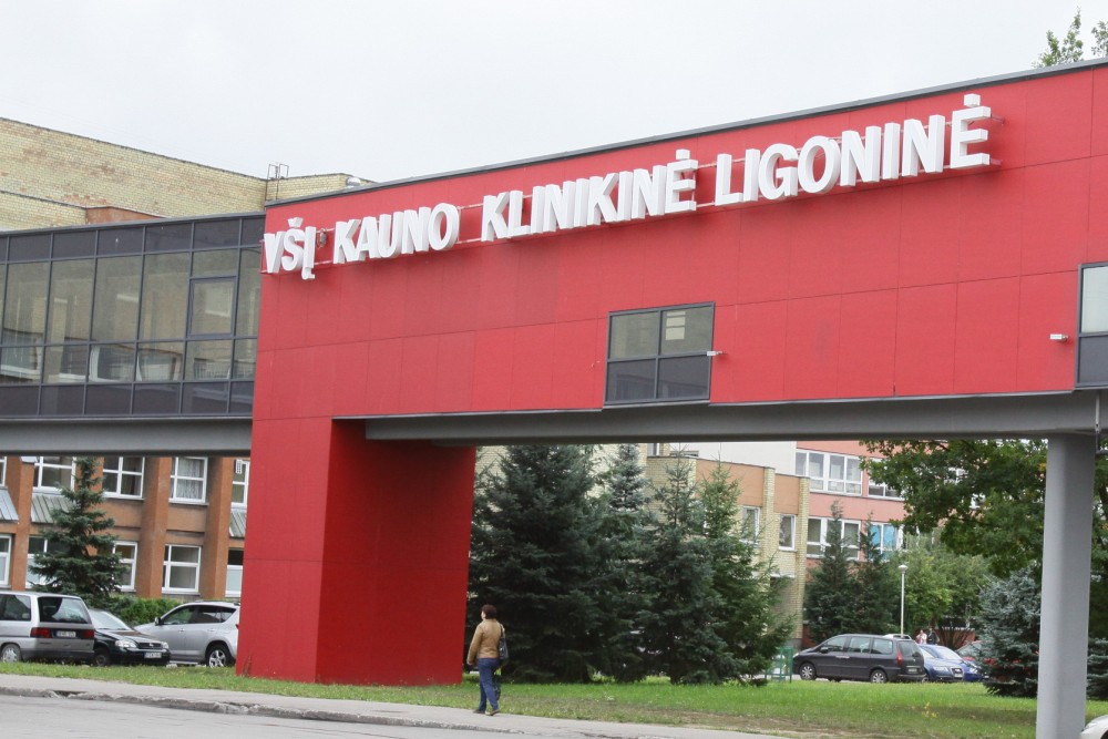 Kauno klinikinėje ligoninėje pirmas atvejis, kai ne infekcinių ligų padalinyje diagnozuotas COVID-19